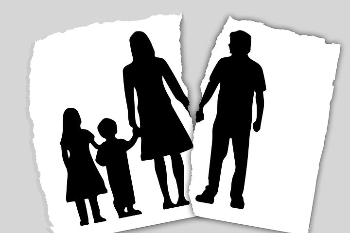 family facing a separation